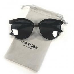 LeonLion Cukierki Marka Projektant Okulary Cat Eye Kobiety Luksusowe Plastikowe Okulary Klasyczne Retro Outdoor Óculos De Sol Ga