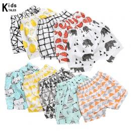 RK-154 Letnie szorty 2018 hurtownie unikalne dzieci dziewczynek spodnie szorty szerokie spodnie hot cartoon szorty 0-4Y