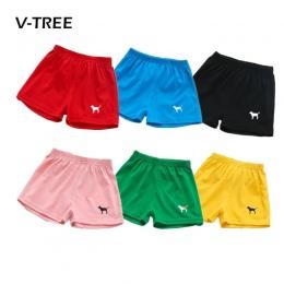 Nowe Letnie Boys Baby Dziewczyny Cukierki Kolorowe Spodenki Bawełniane Spodenki Plażowe Dla Dzieci Spodnie sportowe Dzieci Marki