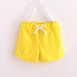 Dziecko dziewczyny chłopcy odzież dla dzieci Plaża Szorty Casual athletic Spodenki malucha bawełniane spodnie z elastyczny pas C