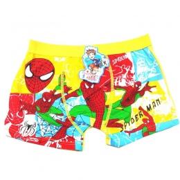 New Arrival spiderman chłopcy bielizna bielizna bokserki figi calcinha infantil postaci z kreskówek dla dzieci chłopców