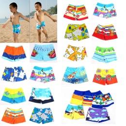 1 SZTUK Plaża Stroje Kąpielowe Szorty Dla 2-5 T Chłopcy Lato Nurkowanie Swim Wear Cartoon Drukowane Maluch Dziecko Kid dziecko K
