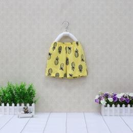 Letnie Spodenki Cienkie Czystej Bawełny Cute Little Odzież dziecięca 1 do 5 lat stare Baby Ubrania Niska Cena 2018 Nowa Mała Q g