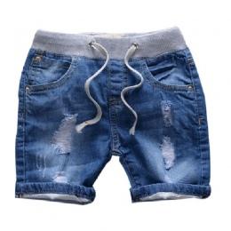 Grandwish Ripped Jeans Spodenki dla Chłopiec Lato Style chłopca Majtki Nowe Dżinsy Szorty Jeansowe dla Dzieci Dziewczyny Szorty