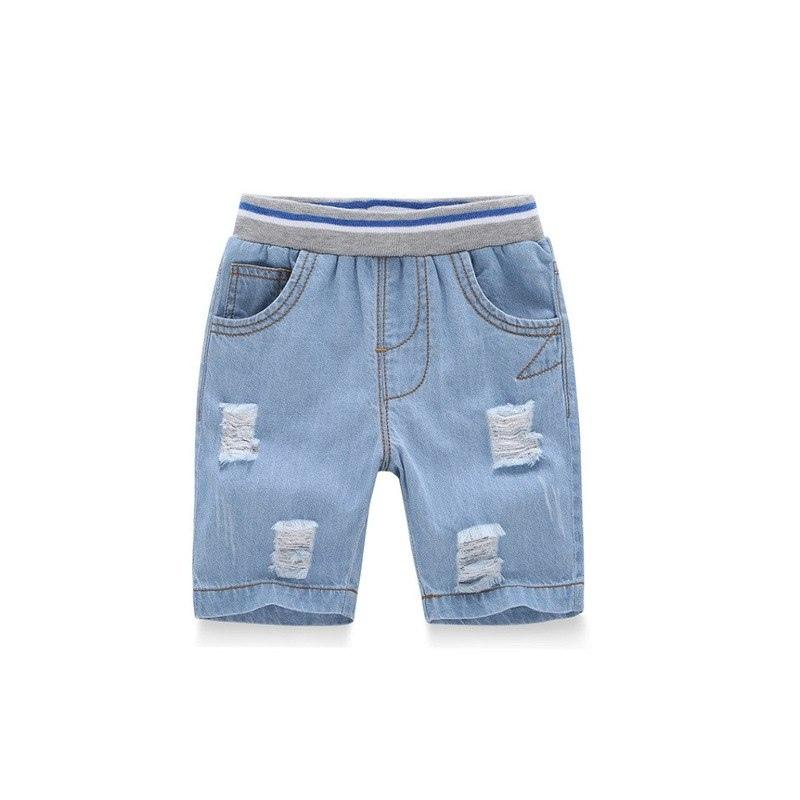 5985d514b6eba7 ... Grandwish Ripped Jeans Spodenki dla Chłopiec Lato Style chłopca Majtki  Nowe Dżinsy Szorty Jeansowe dla Dzieci