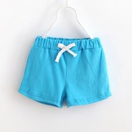 Dzieci Spodenki Plażowe Nowe Letnie Dziecko Cukierki Bawełna Kolor Spodnie sportowe Dzieci Ubrania Dla Dzieci 2-7Y Chłopcy Dziew