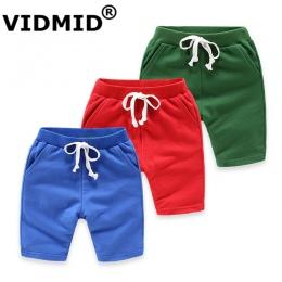 VIDMID DZIECI chłopcy dziewczęta kolorowe szorty lato moda bawełna spodnie chłopięce spodenki plażowe chilren's 2-10 lat spodnie