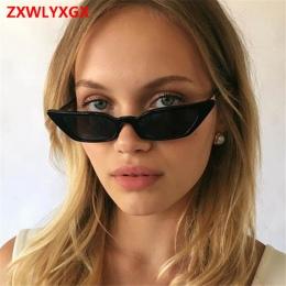 ZXWLYXGX 2018 nowych moda okulary okulary ms. man retro kolorowe przejrzyste małe kolorowe CatEye Okulary