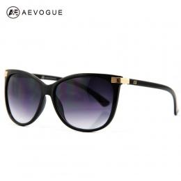 Darmowa Wysyłka Najnowszy AEVOGUE Kociego Oka Classic Marki Okularów Przeciwsłonecznych Kobiet Hot Sprzedaży Okulary W Stylu Vin
