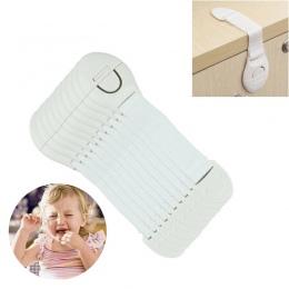 10 Sztuk Ochrony Bezpieczeństwa Dzieci Plastikowe Blokady Drzwi Szafy Szuflady Lodówka Toaleta Blockers Dzieci Baby Care Blokada