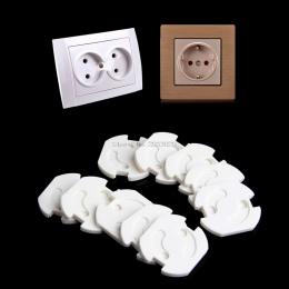 10 sztuk UE Gniazdo Zasilania Gniazdo Elektryczne Ochrona Straż Bezpieczeństwa Dziecka Dziecko Anty Wstrząs Elektryczny Korki Pr