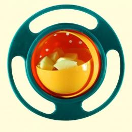 Dzieci Obrotowy Bilans Parasol Miska Miska Uniwersalna Gyro Bowl Praktyczna Konstrukcja Nowością Gyro 360 Obrót Odporna Na Zalan