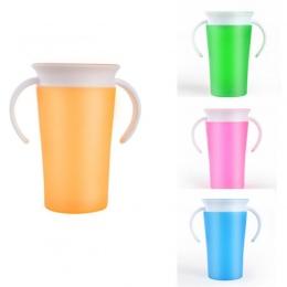 2017 Nowy Marka Nowoczesne Dzieci Prezent Bezpieczne Zapobiegania Wyciek Wyciek 360 Stopni Drink Cup Puchar Ozdobnego