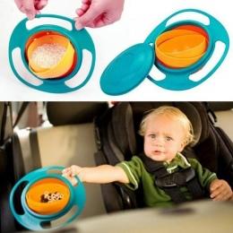 Dzieci Kid Baby Zabawki Prato Uniwersalny 360 Obrót Odporna Na Zalanie Miski Dania Danie Dziecko Dzieci Dinner Plate