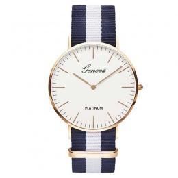 Hot Sprzedaż Nylon pasek Styl Kobiet Zegarek Kwarcowy Najlepsze Zegarki Marki Mody Dorywczo Mody Zegarek Na Rękę Relojes