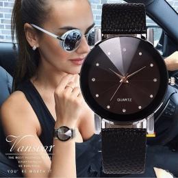 Vansvar Kobiet Zegarek Luksusowy Marka Casual Proste Zegar Kwarcowy Dla Kobiet Skórzany Pasek Wrist Watch Reloj Mujer Drop Shipp