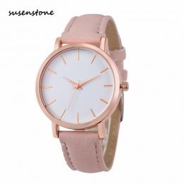 Susenstone 2018 Kobiety Mody Zegarek Luksusowy Marka Kobiety Casual Wrist Watch Panie Zegarek Kwarcowy Relogio Feminino bajan ko