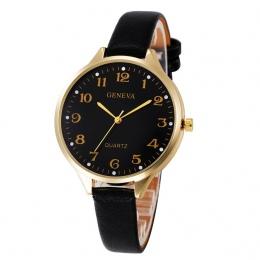 2018 Pani Kobieta Zegarki Wysokiej Jakości Panie Zegarki montre femme Geneva Zegarek Kwarcowy Kobiety Zegar reloj mujer Eleganck