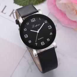 LVPAI Kobiety Zegarka Mody Luksusowe Panie Zegarek Kwarcowy Top Marka Skórzany Pasek Zegarka Kobiet Zegarki Reloj 18MAY8