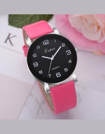 2210484f3 LVPAI Kobiety Zegarka Mody Luksusowe Panie Zegarek Kwarcowy Top Marka  Skórzany Pasek Zegarka Kobiet Zegarki Reloj