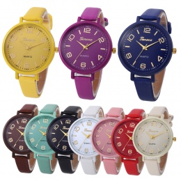 Kobiety Dorywczo Warcaby Faux Leather Wrist Watch Quartz Analogowe Luksusowe pulseira relogio feminino kobiet zegarki Damskie mo