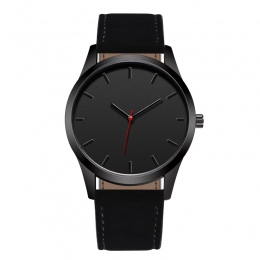 Reloj 2018 Moda Duża Dial Wojskowy Zegarek Kwarcowy Mężczyzn Skórzane zegarki Sportowe Wysokiej Jakości Zegar Zegarek Relogio Ma