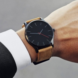 2018 NOWA Luksusowa Marka Mężczyźni Sport Zegarki męskie Kwarcowy Zegar Man Army Military naviforce Leather Wrist Watch Relogio