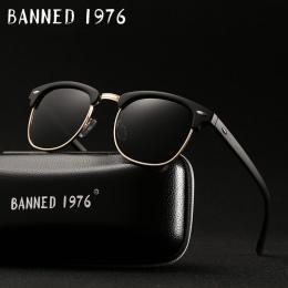 HD Spolaryzowane UV400 mężczyzna kobiet Okularów Przeciwsłonecznych Klasyczny moda retro okulary Słoneczne Marki Powłoka Jazdy O