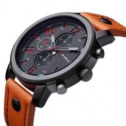 O. T. MORZE Mody Zegarki Men Casual Wojskowy Sport Watch Quartz Wrist Watch Analog Clock Mężczyzna Godzina Relogio Masculino Naj