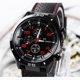 Top Luksusowa Marka Mody Wojskowy Zegarek Kwarcowy Mężczyźni Sport Wrist Watch Zegarki Na Rękę Zegar Godziny Mężczyzna Relogio M