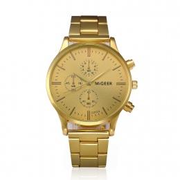 2018 Mody Zegarek Reloj Hombre Mężczyzna Luksusowej Marki Vintage Złoty Zegarek Data Mężczyzna Klasyczny Reloj Hombre Saatler Pr