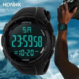 Luxury Sport Watch Mężczyźni Analogowe Cyfrowe Wojskowy Silikonowe Armia Sport LED Wodoodporne Zegarki Na Rękę Mężczyźni Relogio