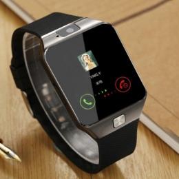 Inteligentny Zegarek Na Rękę Wsparcie Z Kamery Bluetooth Smartwatch Karty SIM TF Dla Ios Android Telefony