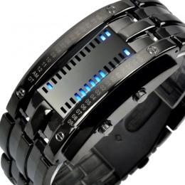 SKMEI Moda Kreatywny Zegarki Mężczyźni Luksusowa Marka Cyfrowy Wyświetlacz LED 50 m Wodoodporny zakochanej Rękę Relogio Masculin