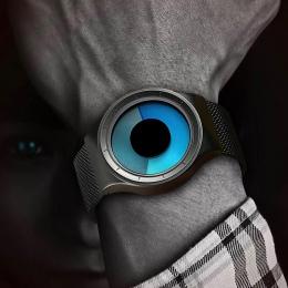 GEEKTHINK Quartz Zegarki Mężczyźni Top Luksusowa Marka Casual Pasma Siatki ze stali nierdzewnej Unisex Zegarek Zegar Mężczyzna k