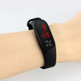 Moda Nowy Superior dzieci Led Cyfrowy Zegarek Sportowy Casual Silikonowe Dzieci Zegarki Na Rękę Bransoletka Relogio Masculino