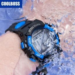 Sport Student Dzieci Zegarek Zegarki Dla Dzieci Chłopcy Dziewczęta Zegar LED Cyfrowy Zegarek Elektroniczny Zegarek Na Rękę dla C