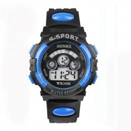 2018 Moda Wodoodporne Dzieci Dzieci Chłopiec Zegarki Cyfrowy LED Alarm Data Quartz Sport Elektroniczny Quartz Wrist Watch dropsh