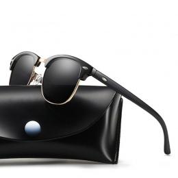 2018 Klasyczne Okulary Mężczyźni Kobiety Retro Marka Projektant Okulary Kobieta Mężczyzna Mody Lustro Okulary UV400 Okulary 7758