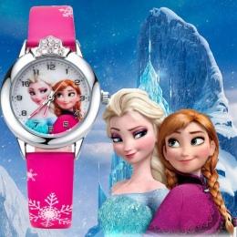 Moda dla dzieci dzieci dziewczyny 3D cartoon Królowa śniegu Księżniczka Oglądać studenci siostra urocza sukienka prezent party q