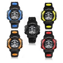 Moda Dzieci Zegarki Dzieciak Chłopiec Cyfrowy LED Alarm Data Quartz Sport Wrist Watch relogio masculino Dobrej Jakości horloges
