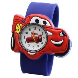 Hot sprzedaży Dzieci zegarek dla chłopca producentów samochód kreskówki Silikonowe Taśmy poklepał tabeli studentów miłość do chi