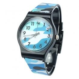 Nowe Mody Dzieci Zegarki Kamuflaż Kwarcowy Zegarek Dla Dziewczyny Chłopiec Dropship wysokiej jakości Dzieci Relogio bajan kol sa