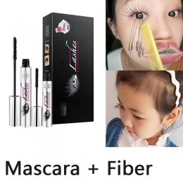 Magia Czarnego 4D Silk Fiber Mascara DiDiCat Mascara Makeup Zestaw Przedłużanie Rzęs Wydłużenie Głośności Wodoodporne Kosmetyki