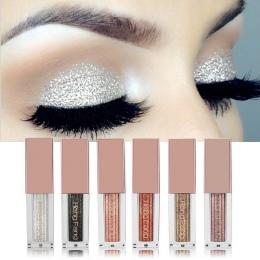 Hengfang Shimmer Metalowe Glitter Płyn Eyeshadow Wodoodporna Łatwe do Noszenia Cieczy Eyeshadow Stick Uroda Narzędzie Kosmetyczn