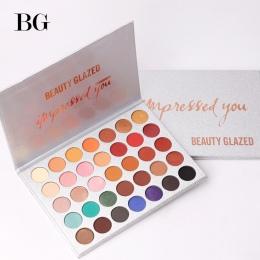 Piękno Szkliwione 35 Kolor eyeshadow pallete Glitter Makijaż Matowy cień do oczu długotrwałe make up palette maquillage paleta d