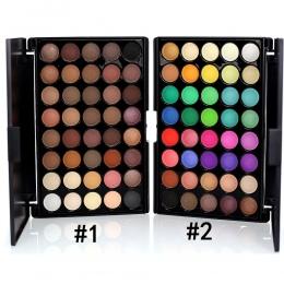 Nowy Marka Profesjonalne makeup matte glitter make up Eye shadow cień do powiek 40 Kolorów palety cieni do powiek Beauty eye gli