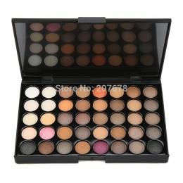 40 kolorów Eyeshadow Pallete Matowy Makijaż Ziemi Palette Glitter Wodoodporna Trwały luźne nago Powder Eye Shadow Makijaż Barwni