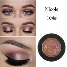 Hot Moda Makijaż Oczu Cień Miękkie Metallic Glitter Shimmering Kolorów Eyeshadow Oczu Kosmetyczne Dla Wszystkich Rodzajów Skóry