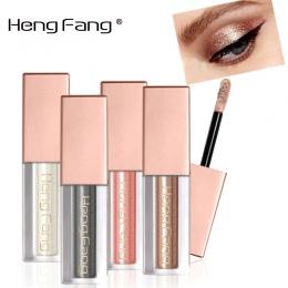 Nowa Ciecz Wodoodporna Diament Glitter Eyeshadow Makijaż Kosmetyki Biały Miedź Kolory Marki Fang Heng Shimmer Cienie Do Powiek U